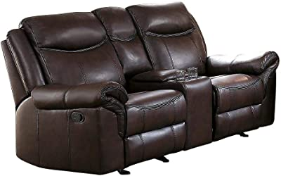 Fantastic Amazon Com Homelegance 88 Manual Double Reclining Sofa Gamerscity Chair Design For Home Gamerscityorg