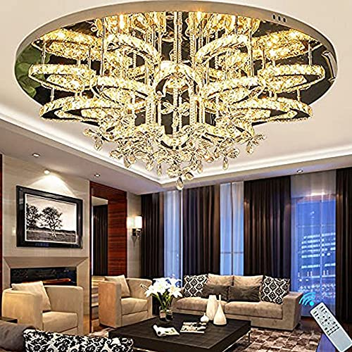 31.5 inch Modern Dimmable Chandeliers Large Chandeliers for High...