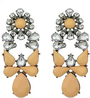 Latest Model Imitation Gemstone Fashion Hanging Earrings