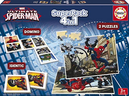 Juegos educativos Educa - Ultimate Spiderman superpack de Ju