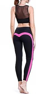 CFR Women's Heart-Shaped Yoga Pants 2017 Hot! Workout Ankle-Length Fitness Leggings
