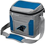 Coleman NFL Soft-Sided Insulated Cooler and Lunch Box Bag, 9-Can Capacity, Carolina Panthers