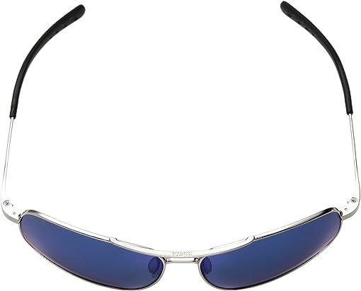 Brushed Palladium Frame/Blue Mirror 580P
