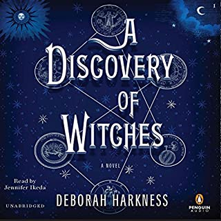 A Discovery of Witches     A Novel              Written by:                                                                                                                                 Deborah Harkness                               Narrated by:                                                                                                                                 Jennifer Ikeda                      Length: 23 hrs and 59 mins     169 ratings     Overall 4.6