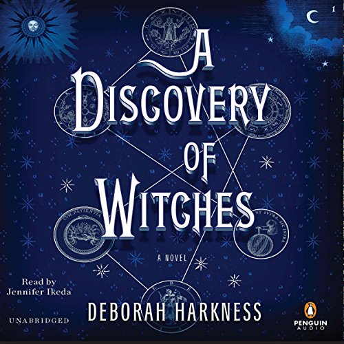 A Discovery of Witches     A Novel              De :                                                                                                                                 Deborah Harkness                               Lu par :                                                                                                                                 Jennifer Ikeda                      Durée : 23 h et 59 min     12 notations     Global 4,3