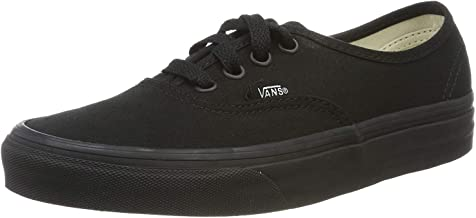 Vans Authentic Unisex Casual Sneakers, Size 13, Color Black