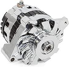 A-Team Performance GM CS130 Style 160 Amp Alternator with V-Belt Pulley Chrome
