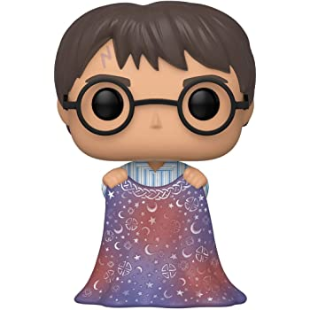 Funko Pop! Harry Potter: Harry Potter - Harry with Invisibility Cloak,Multicolor