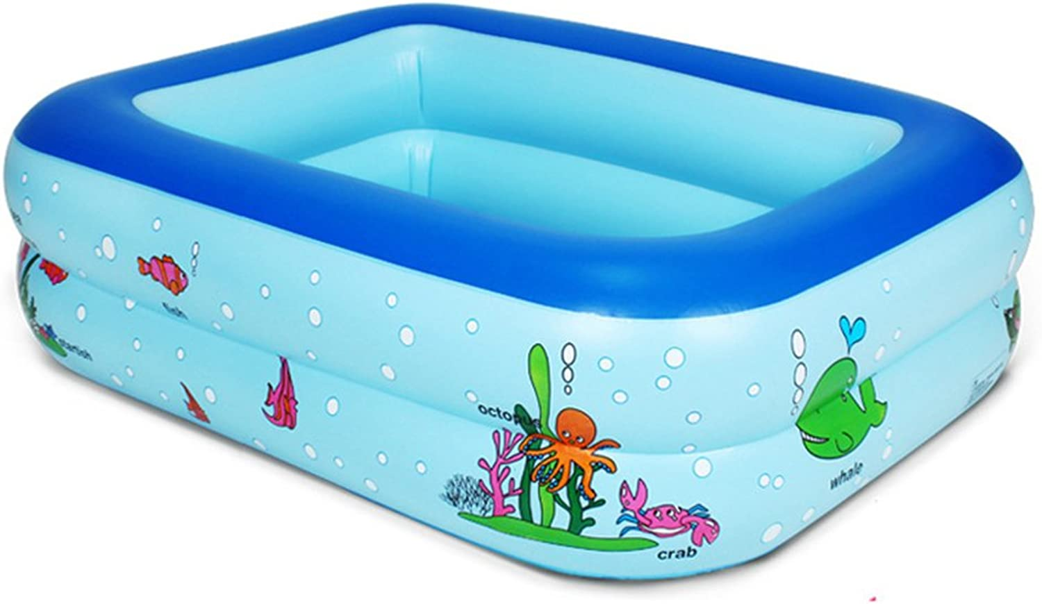 DMGF Inflatable Swimming Pool For Kids Giant Portable Foldable Bathtub Comfortable Home Spa Massage Bathroom SPA