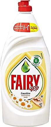 Fairy Sensitive Chamomile Liquid Dishwashing Soap, 1 Liter