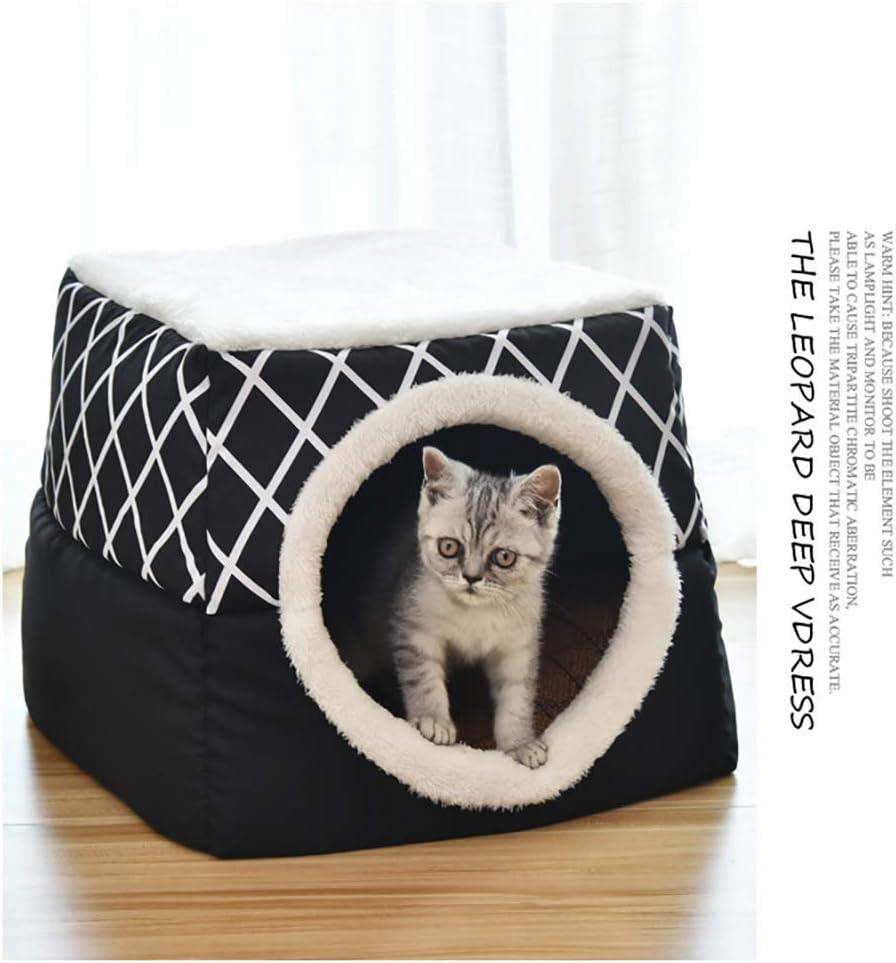 YunNasi Katzenhöhle Katzen Haus Katzenbett Haustier Pet Nest ...