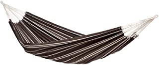 AMAZONAS Klassisk hängmatta XL Barbados Mocca handgjord i Brasilien 230 cm x 150 cm för 1–2 personer upp till 200