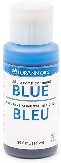 LorAnn Blue Liquid Food Color, 1 Ounce Squeeze Bottle