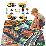 Gifts for Kids Who Love Construction -- Carpet Play Mat Rug