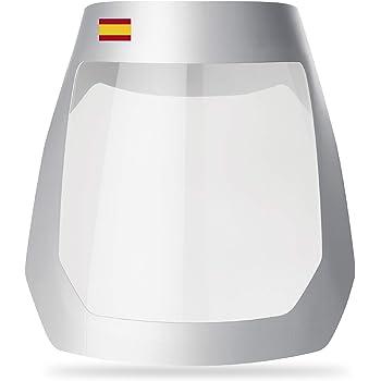 Pantalla Protectora   FLEXOMED®   Pantalla Facial Protectora  ViseraPlus Ultra Bandera España   Incluye Almohadilla Reforzada   Estuche de 3 unidades   Con Certificacion CE: Amazon.es: Bricolaje y herramientas