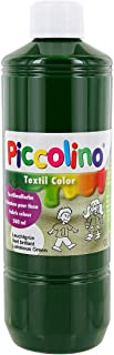 PICCOLINO - Pintura textil (500 ml), color verde