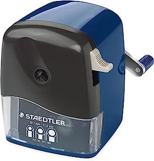 تراش دستی لنگ مکانیکی Staedtler Mars ، میز روتاری یا قفسه نصب ، تیزکن مداد مدرسه و دفتر ، 501 180