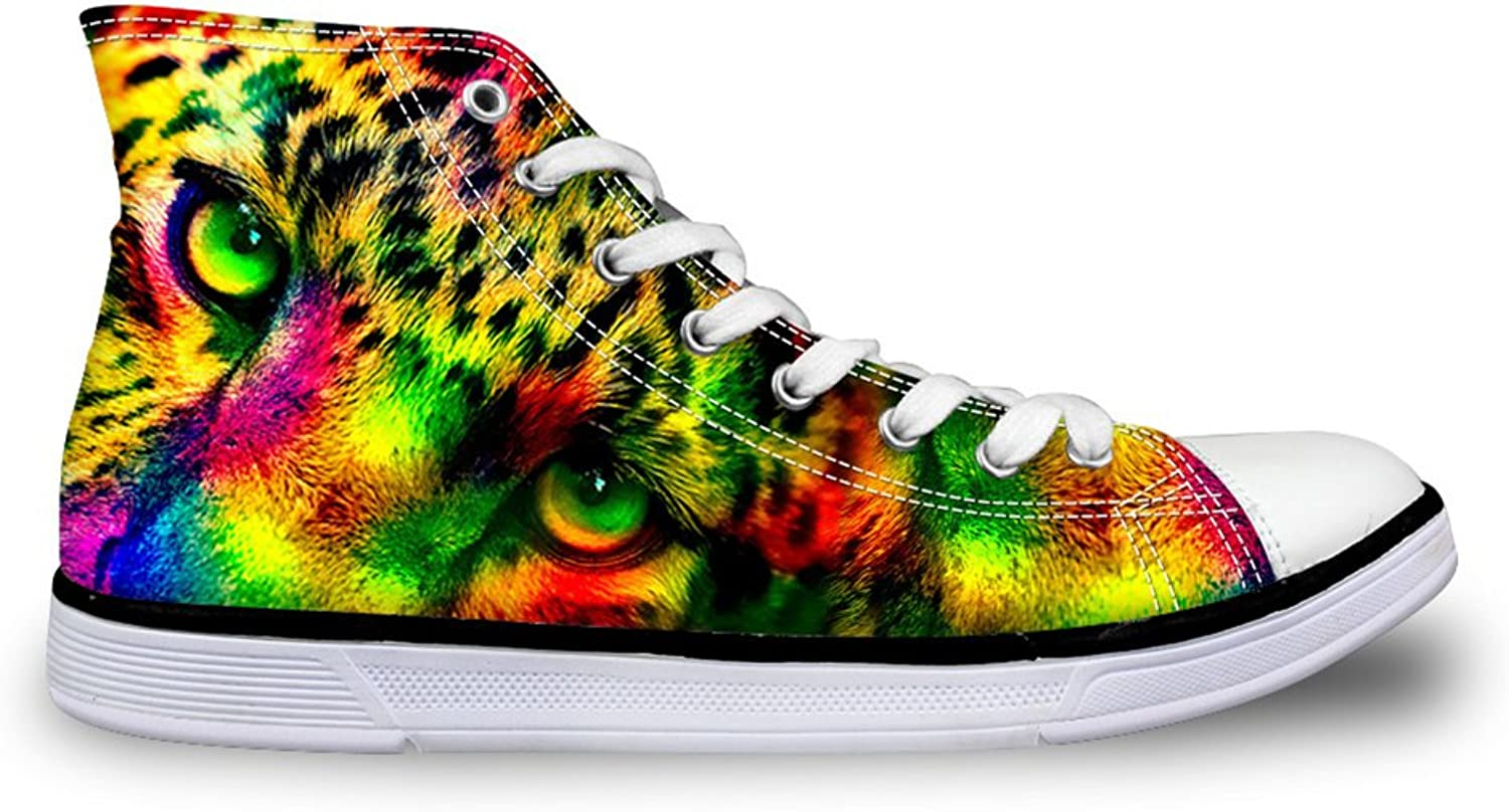Mumeson Fashion Design Animals Unisex Fashion High Top Canvas shoes Trainers Sneakers