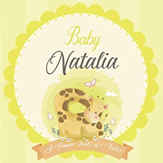Baby Natalia A Simple Book of Firsts: A Baby Book and the Perfect Keepsake Gift for All Your Precious First Year Memories ...