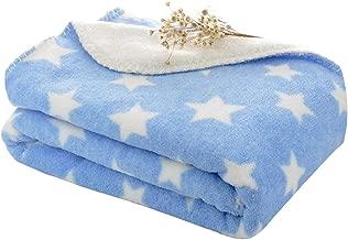 My Newborn Wrapping Sheet Cum Blanket Stroller Wrap for Babies, 77 x 100 cm, Blue Polka Spread