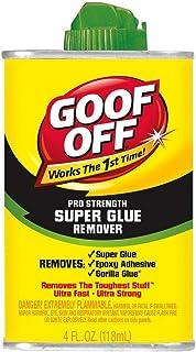 Goof Off Pro Strength Super Glue Remover 118ml