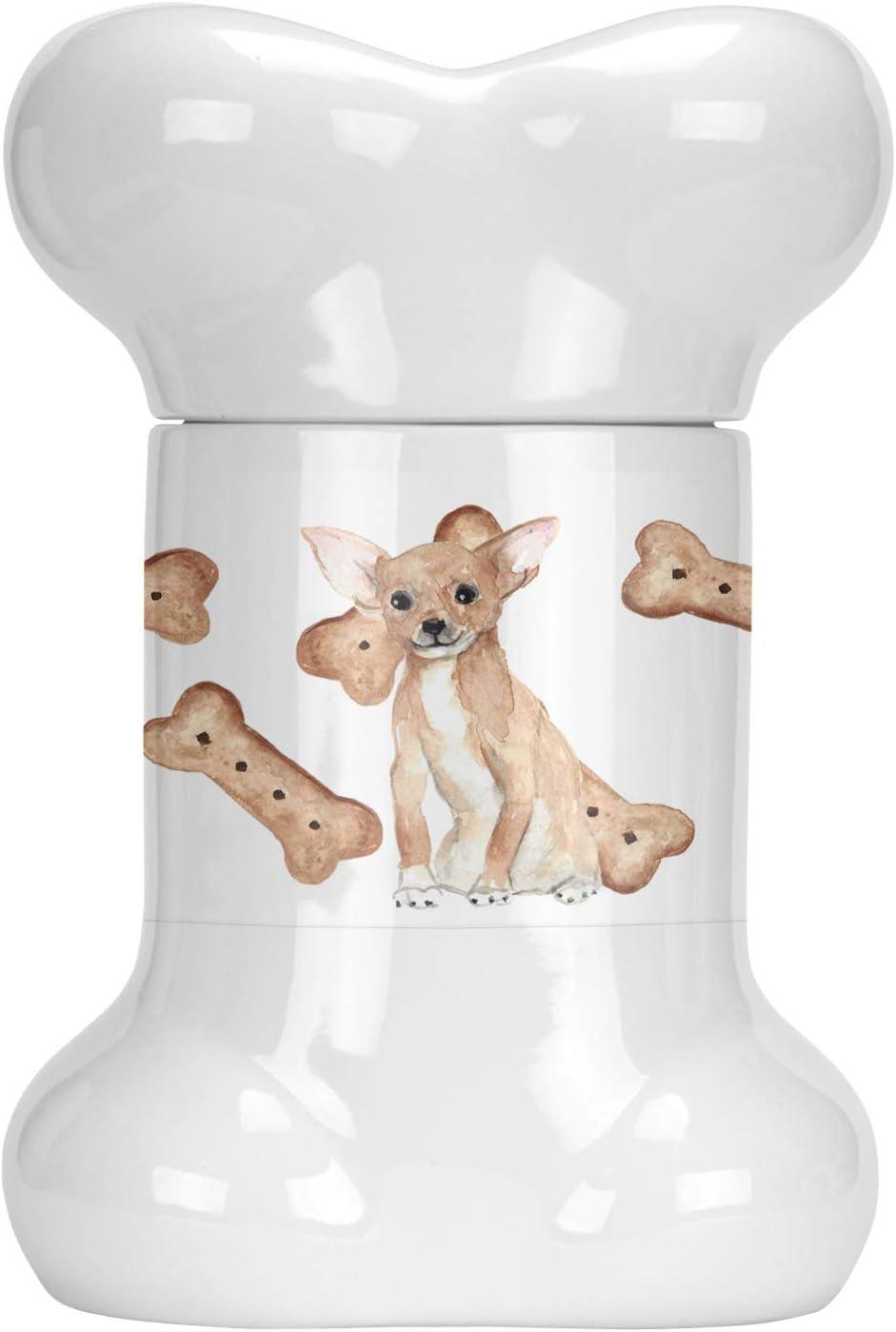 Caroline's Treasures CK2369BSTJ Chihuahua Puppy New Indianapolis Mall life Bone Shaped Trea