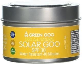 Sponsored Ad - Green Goo Natural Skin Care Salve, Solar Goo, 30 SPF Sunscreen, 4-Ounce Jar