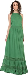 Vajor Women's Boho Maxi Dress