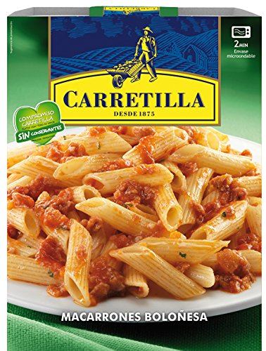 Carretilla - Macarrones Boloñesa 325 g