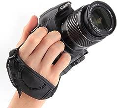 Hand Grip Strap for Canon 70D 60D 6D 1200D 1100D 1000D 700D 650D 600D 550D 500D 450D 100D EOS Rebel T1i T2i XS XSi 10D T4i T5i G1X 7D 5D Mark III II EOS-1D X SX60 SX50 HS Powershot G1 X G15 G16 SX30
