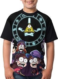 maichengxuan Camisetas de Manga Corta, Teenager Tops Graphic Gravity-Falls a T Shirts Short Sleeve tee Shirts Cute T-Shirt...