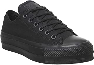 Converse Chuck Taylor All Star Clean Lift Womens Black OX Trainers