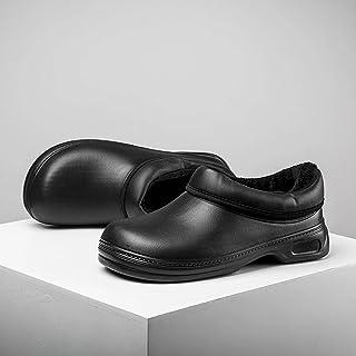 Hommes etfemmes ajoutent du cachemire pour rester au chaud en hiver,chaussures detravail de sécurité professionnelles rési...