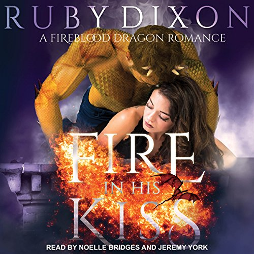 Fire in His Kiss audiobook cover art