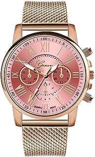 Cidere Wrist Watch, 1 Pc Women Fashion Quartz Watch Casual Metal Gift Wrist Watch (8 Colors) Wrist Watches