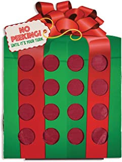 Christmas Gift Prize Punch Game (16 Holes for prizes)