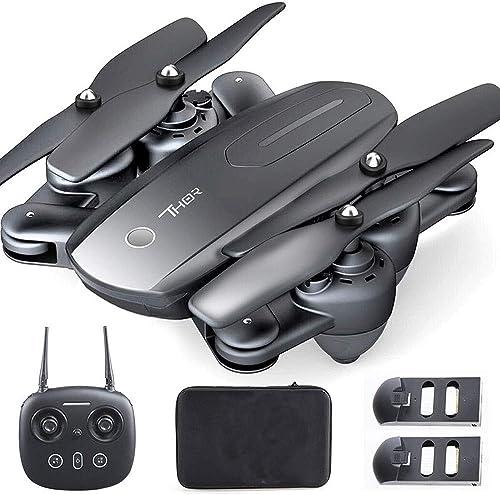 Descuento del 70% barato Ycco Drone con con con cámara para Adultos FPV RC Quadcopter Aviones WiFi Video en Vivo Altitud Flotar 3D VR 2.4 GHz Bolsa Plegable Ajuste Remoto Cámara Ancha Helicóptero 720P HD Inclinable  tienda hace compras y ventas