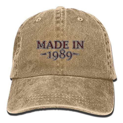 Denim-Baseball-Cap aus dem Jahr 1989 Adult Vintage Washed Outdoor Ort Hat Multicolor5