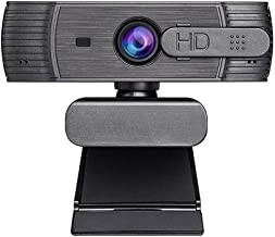 WDFDZSW H610PRO Webcam HD 1080P Webcam Microphone, USB Webcam with Auto Light for Desktop/Laptop, Streaming Computer Web C...