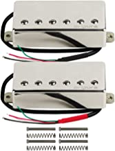 OriPure Alnico 5 Sealed Guitar Humbucker Pickups Neck & Bridge Pickups Set for Les Paul Guitar Part