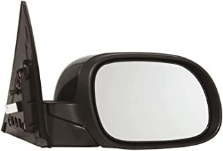 Burco 5607H Convex Passenger Side Replacement Mirror Glass Heated for 14-18 KIA SOUL