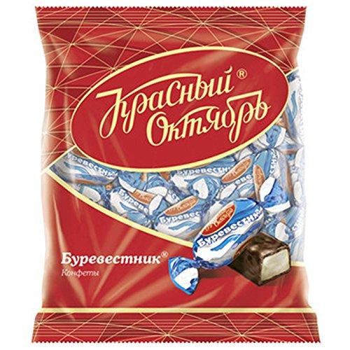 Pralinen Burewestnik 3er Pack (3 x 250g) russisches Konfekt mit Kondensmilch in kakaohaltiger Glasur