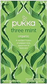 Pukka Herbs Three Mint Tea Bags, 20 Pieces