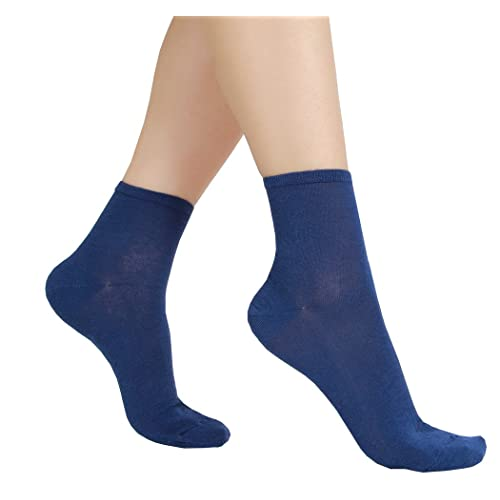 c843ef955 6 or 12 Pair Women s Ultra Thin Cotton Summer Ankle Crew Socks