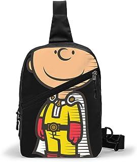 One Punch Man Bolso Bandolera De Hombre Bolso Cruzada Hombre Bolsa De Pecho Sling Bag Crossbody Para Al Aire Libre Camping...