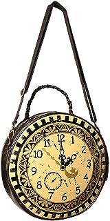 0c424e0ebc Banned Sac à main rond en forme d'horloge victorienne steampunk