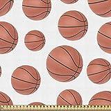 ABAKUHAUS Basketball Gewebe als Meterware, Realistische