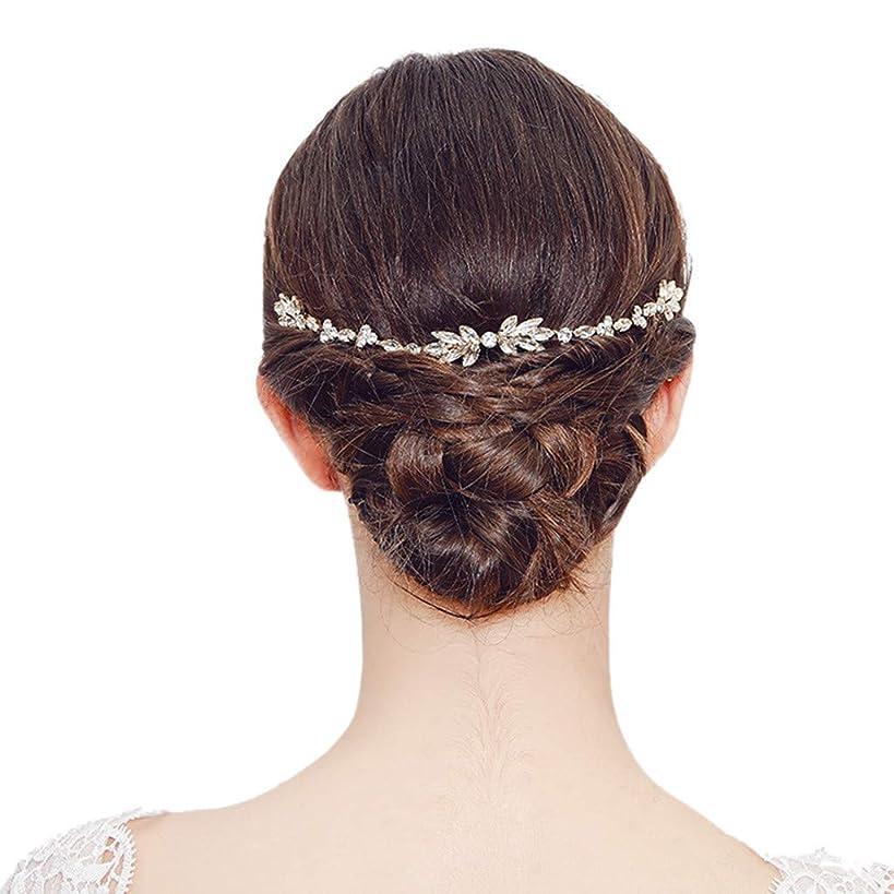Simple Fashion Crystal Flower Hair Tiara Bridal Insert Comb Wedding Hair Comb