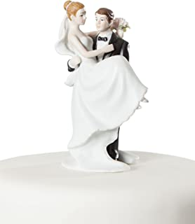 Wedding Collectibles Small Groom Holding Bride Traditional Cake Topper Figurine