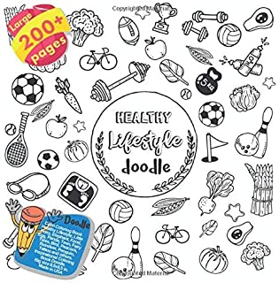 Calm Coloring Book Healthy Lifestyle, Little Pony, Elephant, Food, Egg, Panda, Teen, Fairy Tales, Bird, Peacock, Reindeer, Penguin, Tattoo and others. ... Healthy Lifestyle and others Doodle Book)